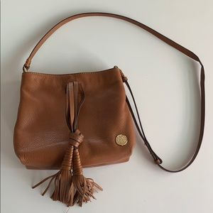 Camel leather Vince Camuto bag!